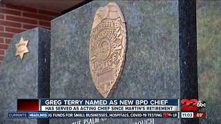 Greg Terry named as new Police Chief for BPD
