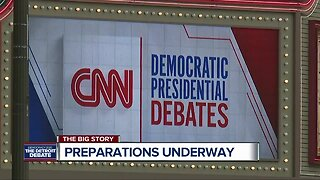 Detroit prepares for the national spotlight as Fox Theatre gets ready for Democratic Debate