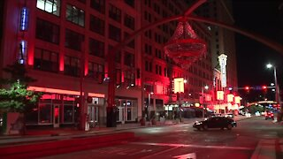 Cleveland, other cities nationwide light up in for 'Red Alert RESTART'