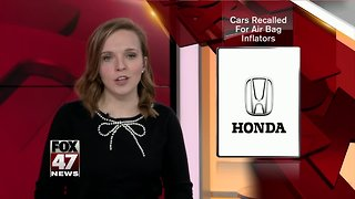 Honda could recall up to a million older cars