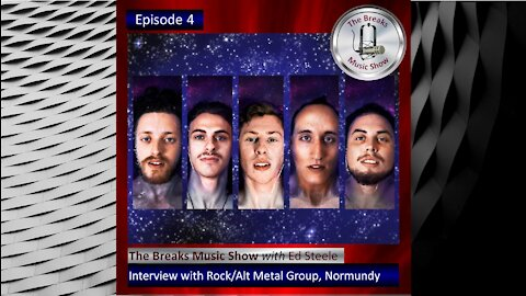Normundy Interview on The Breaks Music Show - Coming Friday - July 9, 2021
