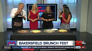 FOODIE FRIDAY: Jerry's Pizza introduces brunch pizzas at Bakersfield Brunch Fest