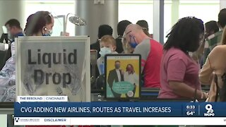 CVG expects more travelers in coming months