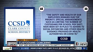 Custodians and other support staff voice concerns about doing job during shutdown