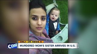 Sister of murdered Ashtabula mother finally arrives in the United States