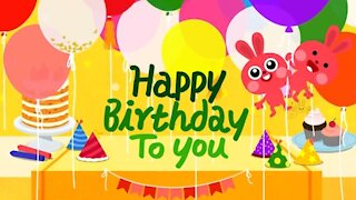 Fun Happy Birthday Song for Kids Party