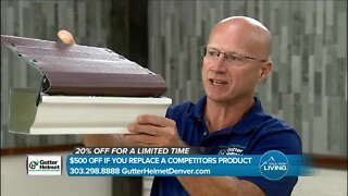Never Clean Your Gutters Again & Add Value To Your Home // Gutter Helmet