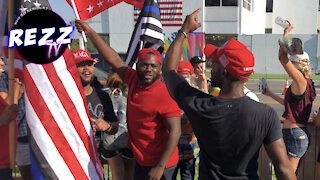 Beverly Hills PEACEFULLY Rallies For President Trump & FREEDOM