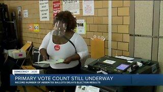 Primary vote count still underway