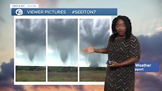 7 First Alert Forecast 12 p.m. Update, Saturday, July 12