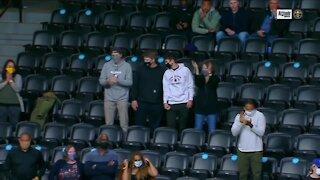 Ball Arena welcoming back regular fans