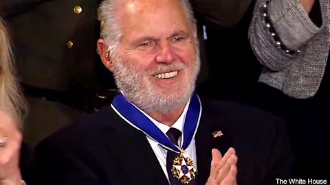 Rush Limbaugh Presidential Medal of Freedom Presentation | The Washington Pundit