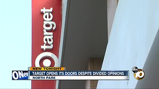Target opens in North Park despite dividing opinIons