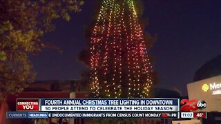 Fourth annual Christmas tree lighting in Downtown Saturday