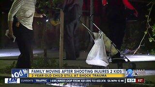 Family hopeful 2 y/o shot will make full recovery