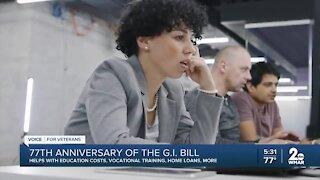 G.I. Bill Turns 77