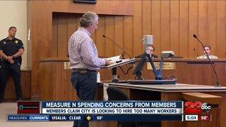 Measure N Committee members voice concern over city spending of tax dollars