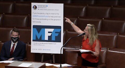 Rep. MTG on the Two-Track Justice System for BLM/Antifa Terrorists vs. Trump Supporters