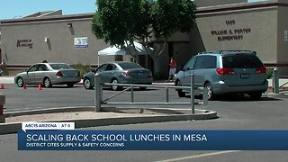 Scaling back free school lunches in Mesa