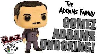 Gomez Addams Funko Pop Unboxing