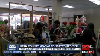 Kern County enters red tier, more businesses can welcome back customers