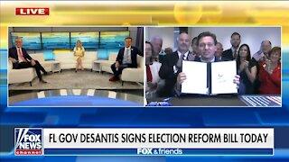 Gov DeSantis Signs Florida Election Bill LIVE On Fox