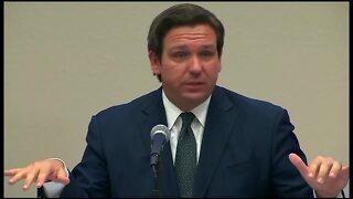 Governor DeSantis discusses coronavirus data