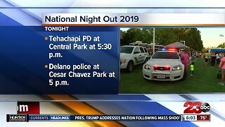 National Night Out events planned around Kern County