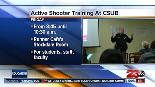 Active shooter training at CSUB