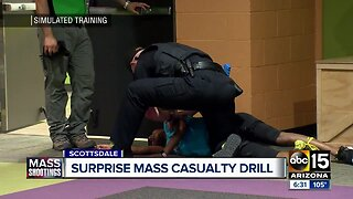 Mass shooting drill tests first responders, five Valley hospitals