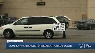 Prattville panhandler with a false message