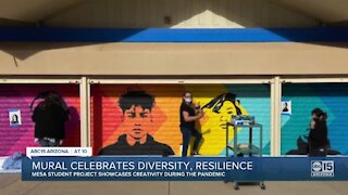 Mural celebrates diversity, resilience