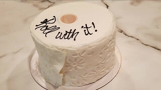 We're Open: Local bakery makes toilet paper cake