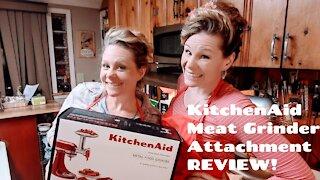 KitchenAid Meat Grinder Attachment REVIEW!