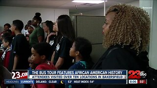 black history bus tour highlights African American history