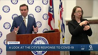 Cincinnati leaders point to positive signs in COVID-19 crisis
