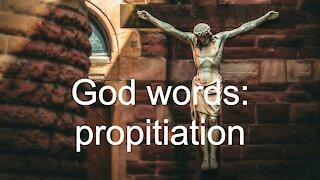 God words: propitiation