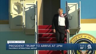 President Donald Trump to discuss environmental policies in Jupiter on Tuesday