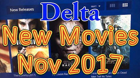[WRONG] Delta's In flight Movies for November 2017 (New Releases)
