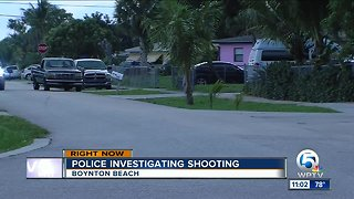Man injured in Boynton Beach shooting