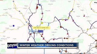Winter weather driving conditions across the Treasure Valley
