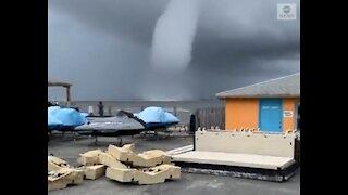 Massive Waterspout Near Seaside Heights, NJ