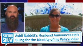 Ashli Babbitt's Husband Announces He's Suing for the Identity of his Wife's Killer