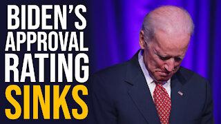 Biden's Approval Rating Sinks