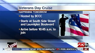 Bakersfield Car Club Council hosting a Veterans Day Cruise.