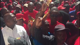 WRAP: Vavi threatens two-day strike should government not heed demands (wqm)