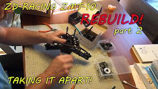 ZD Racing Thunder ZMT-10 (10427S/9106) Rebuild part 2