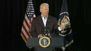President Biden delivers remarks in Surfside after visiting with families