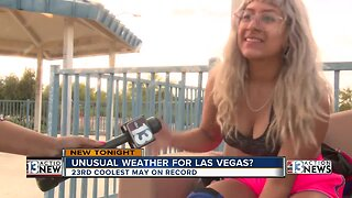 Southern Nevada experiencing 'cool' month of May