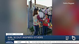 South Bay Girl Scout inspires others to give
